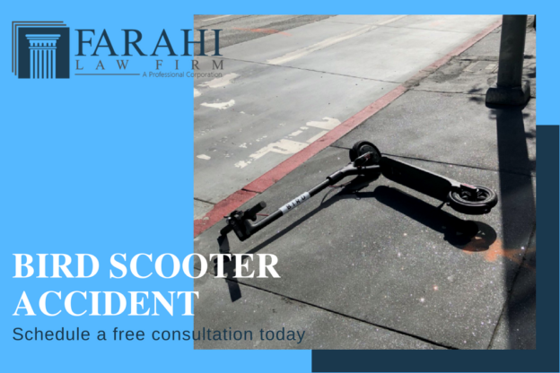 Who is liable for injuries caused by a bird scooter?
