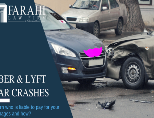 INJURED AS A PASSENGER IN AN UBER OR LYFT CRASH