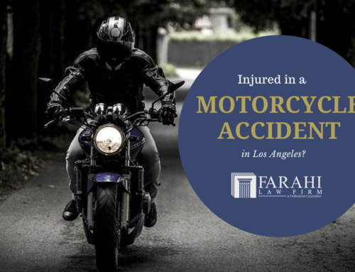 Injured in a Motorcycle Accident in Los Angeles?
