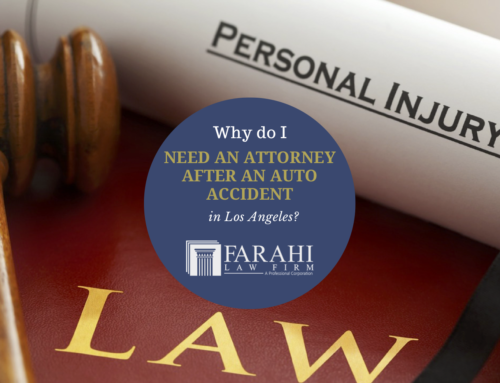Why do I need an attorney after an auto accident in Los Angeles?