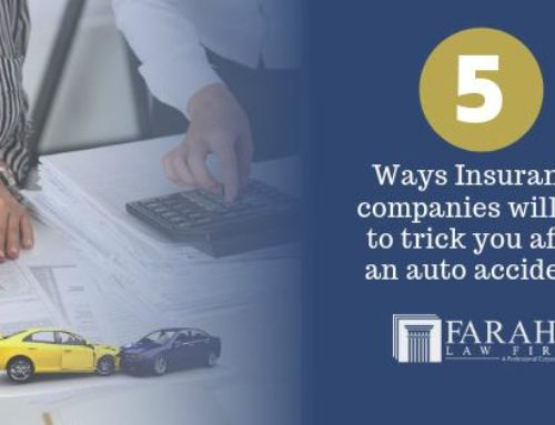 5 Ways Insurance Companies will Try to Trick you After an Auto Accident