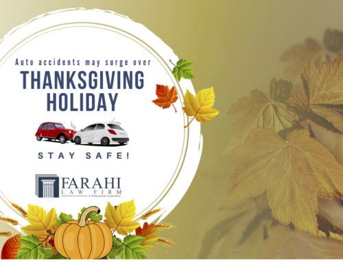 Auto Accident May Surge Over Thanksgiving Holiday