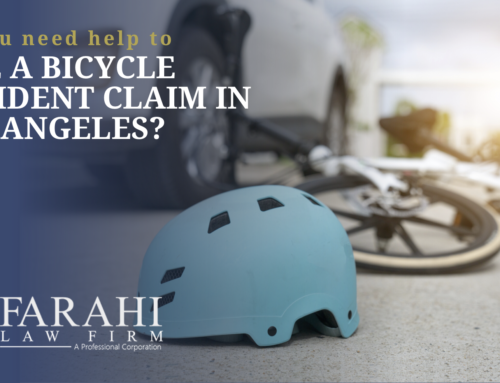 File a Bicycle Accident Claim in Los Angeles?
