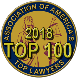 Personal Injury Association of America's Top Lawyers-Top 100 Layers 2018