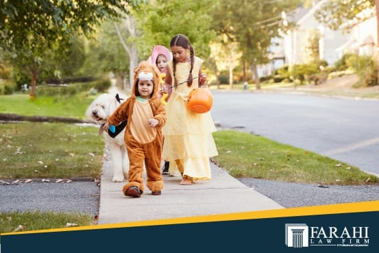 Protect Kids from Halloween Accidents, When to Call an Accident Lawyer