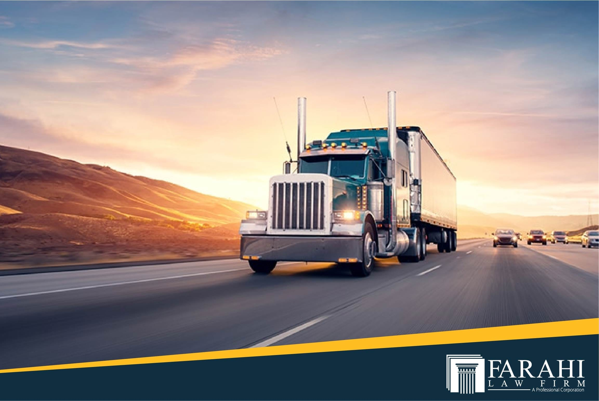 What are the Most Common Types of Truck Accidents? | Farahi Law Firm