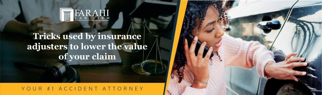 Tricks used by insurance adjusters to lower the value of your claim